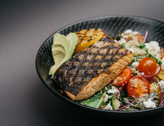 plat diététique au poisson